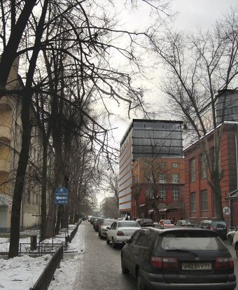 Residential complex in Donskoy passage