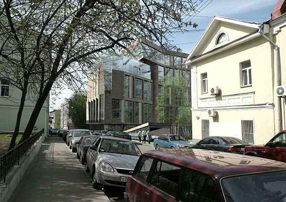 Residential complex in Bolshoy Soukharevsky passage