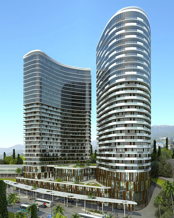 Residential complex in Sochi