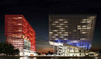 "Closed International competition to design the HQ of ""Sportmaster"" and ""O'Stin"" companies. I Prize"