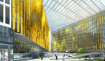 Closed National competition to design the new HQ of the Russian Olympic Committee. I Prize